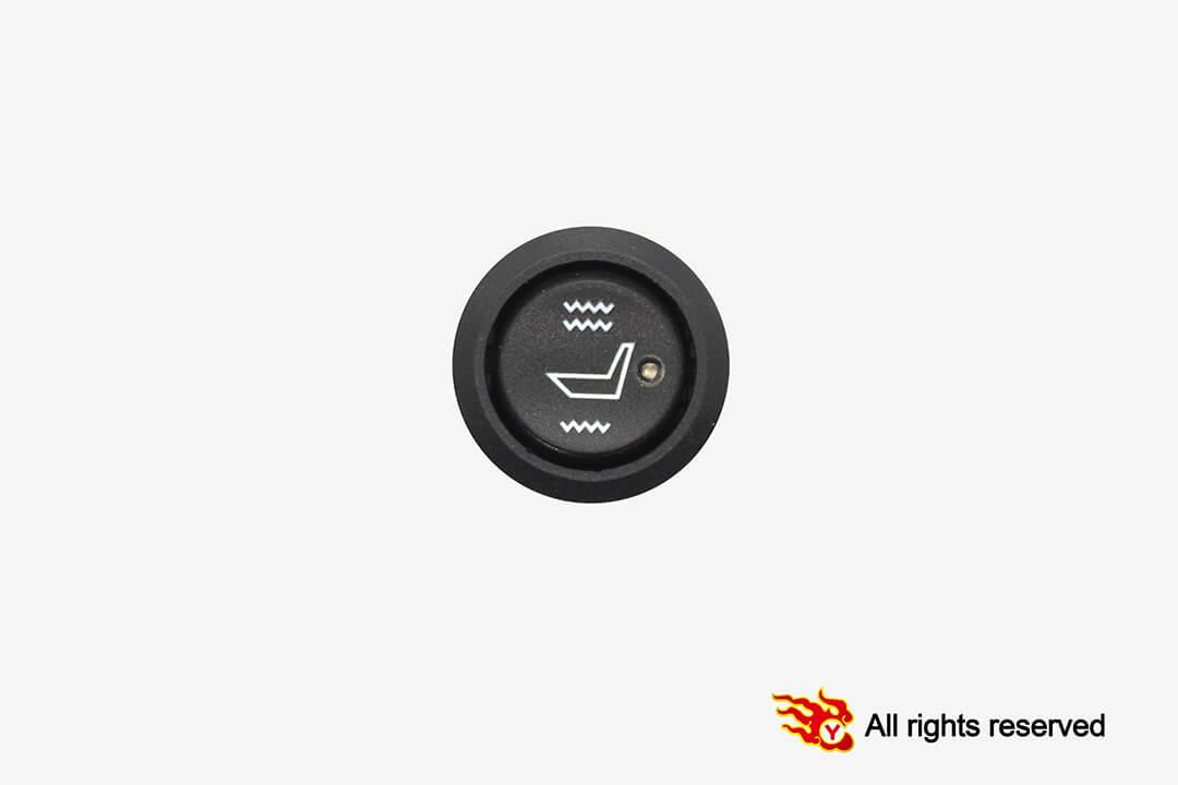Round Hi-Off-Low switch